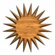 Wood star — Stock Photo #27451249