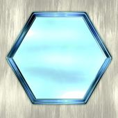 Hexagon — Stock Photo