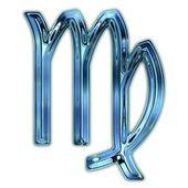Virgo Zodiac Symbol — Stock Photo