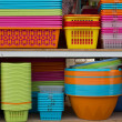 Colorful basket — Stock Photo