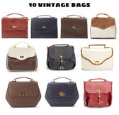 Vintage Bags — Stock Photo