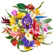 Stock Photo: Bouquet of flowers