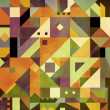 Abstract shapes background - Stock Photo