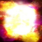 Sun explosion — Stock Photo