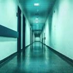 Long empty corridor — Stockfoto #43836833