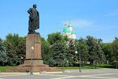 View of the Lenin square in Astrakhan — Stock Photo