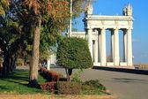 Embankment of Volgograd — Stock Photo