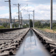 Railroad. Rails — Stock Photo #17344391