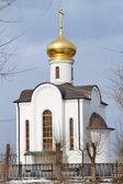 The chapel-Cathedral of the Holy and Righteous Admiral Feodor Ushakov — Stock Photo