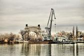 De boog van de eerste gateway volgodonsk kanaal hen. vi. lenin — Stockfoto