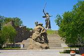 Mamaev Kurgan. General view — Stock Photo
