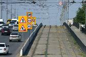 Repairs on the bridge through Volga-don Canal — Stock Photo