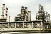 Shop for petrochemical industry. General view — 图库照片