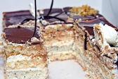 Tasty puff pastries — 图库照片