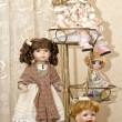 Collectible dolls — Stock Photo