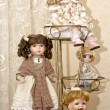 Collectible dolls — Stockfoto #37055289