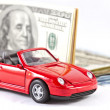 Stock Photo: Buying new luxury car