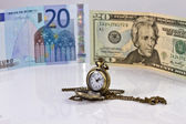 Time for choices stable currencies — Stock Photo