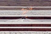 The unknown warrior memorial in Moscow — Stock Photo