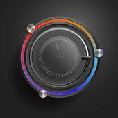 App technology - (Black Edition) — Stock Vector