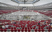 Polish National Stadium in Warsaw — Stock Photo
