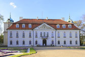 The baroque Palace of Radziwill family  in Nieborow in Poland, — Stock Photo