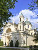 Collegiate church of st. Anne in Wilanow, Poland — Stock Photo