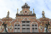 The facade of the great armory in Gdansk, Poland — Stock Photo