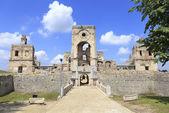 Ruins of Krzyztopor, Ossolinski's palace, Ujzad in Poland — Stock Photo