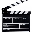 Clapboard — Stock Photo