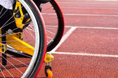 Wheelchair sportsmen — Stock Photo