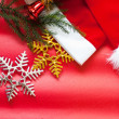 Christmas decoration background — Stock Photo #33761271