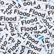 Stock Photo: Flood concept