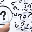 Find question concept  — Stock Photo