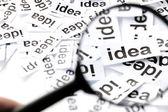 Find idea concept — Stock Photo