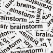Brainstorm concept — Stock Photo