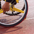 Wheelchair sportsmen — Stock Photo