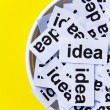 Stock Photo: Idea concept