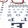 Optometry concept — Stockfoto #34287907