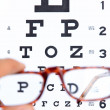 Optometry concept — Foto Stock