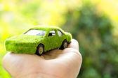 Eco car icon concept — Stockfoto