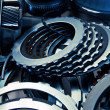 Automobile gear assembly — Stock Photo #34471565