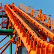 Roller Coaster Track — Stock Photo