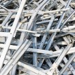 Sheet metal profiles — Stock Photo