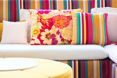 Colorful cushions. — Stock Photo