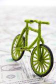 Eco bicycle icon concept — Stockfoto