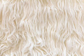 Sheepskin texture background — Stock Photo