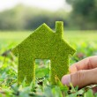 Eco house — Stock Photo