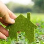Eco house — Stock Photo