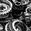 Automobile gear assembly — Stock Photo #35341041